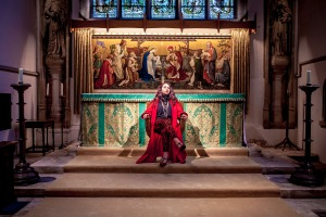 Salome at the altar, Burford 12th june 2013. Sarah Vevers. Image copyright Jamies Smith
